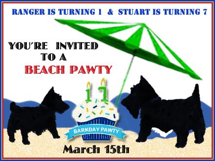 BARKDAY PARTY INVITE
