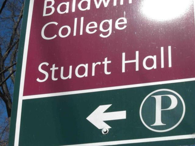 Stuart Hall Sign