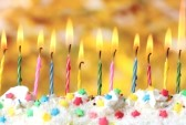 12824848-beautiful-birthday-candles-on-yellow-background