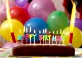 7687161-birthday-cake-with-candles-lit-up-and-ballons-on-the-background