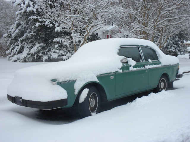 How many inches do you think are on this old jalopy?