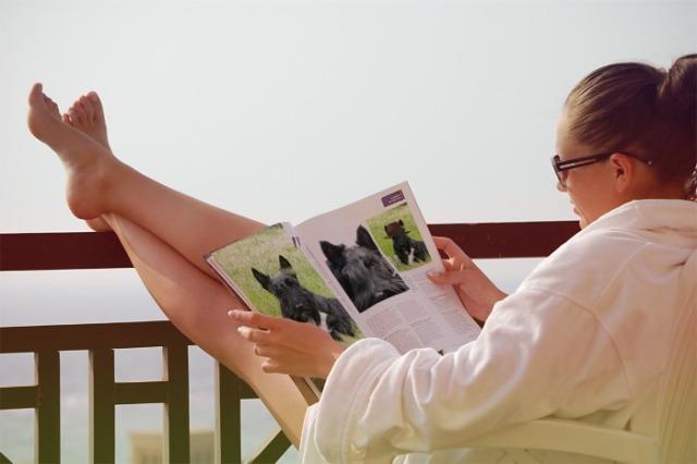balcony reading